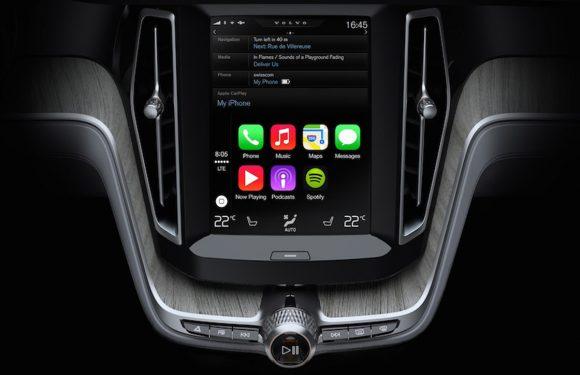 CarPlay video van Volvo laat zien hoe iOS in de auto werkt