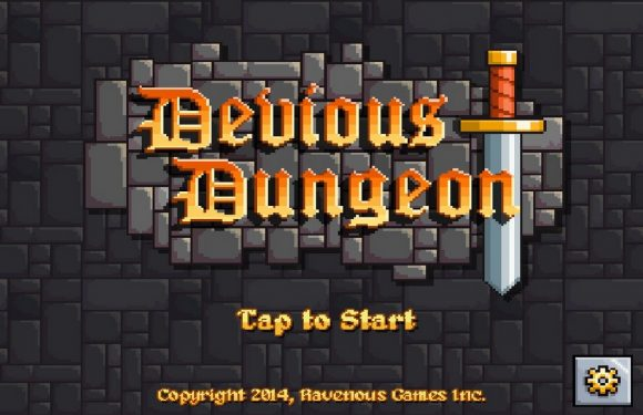 Rijg skeletten aan je zwaard in Devious Dungeon