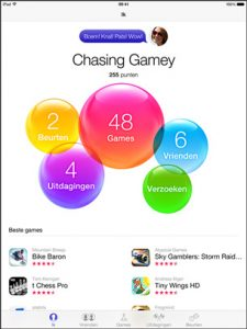 Game Center iOS 8 introduceert
