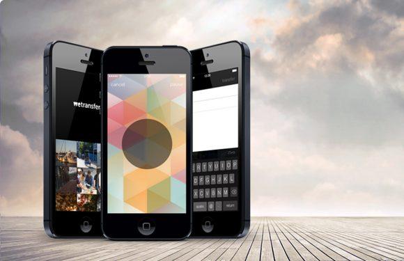 WeTransfer iOS-app laat je gemakkelijk grote bestanden delen