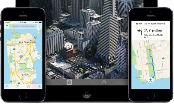 'Foto's tonen iOS 8 op de iPhone 5S'