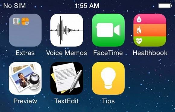 'Uitgelekte iOS 8 screenshots tonen nieuwe apps'