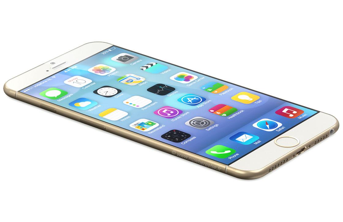 Prachtige iPhone 6 concepten tonen zwarte en gouden versie