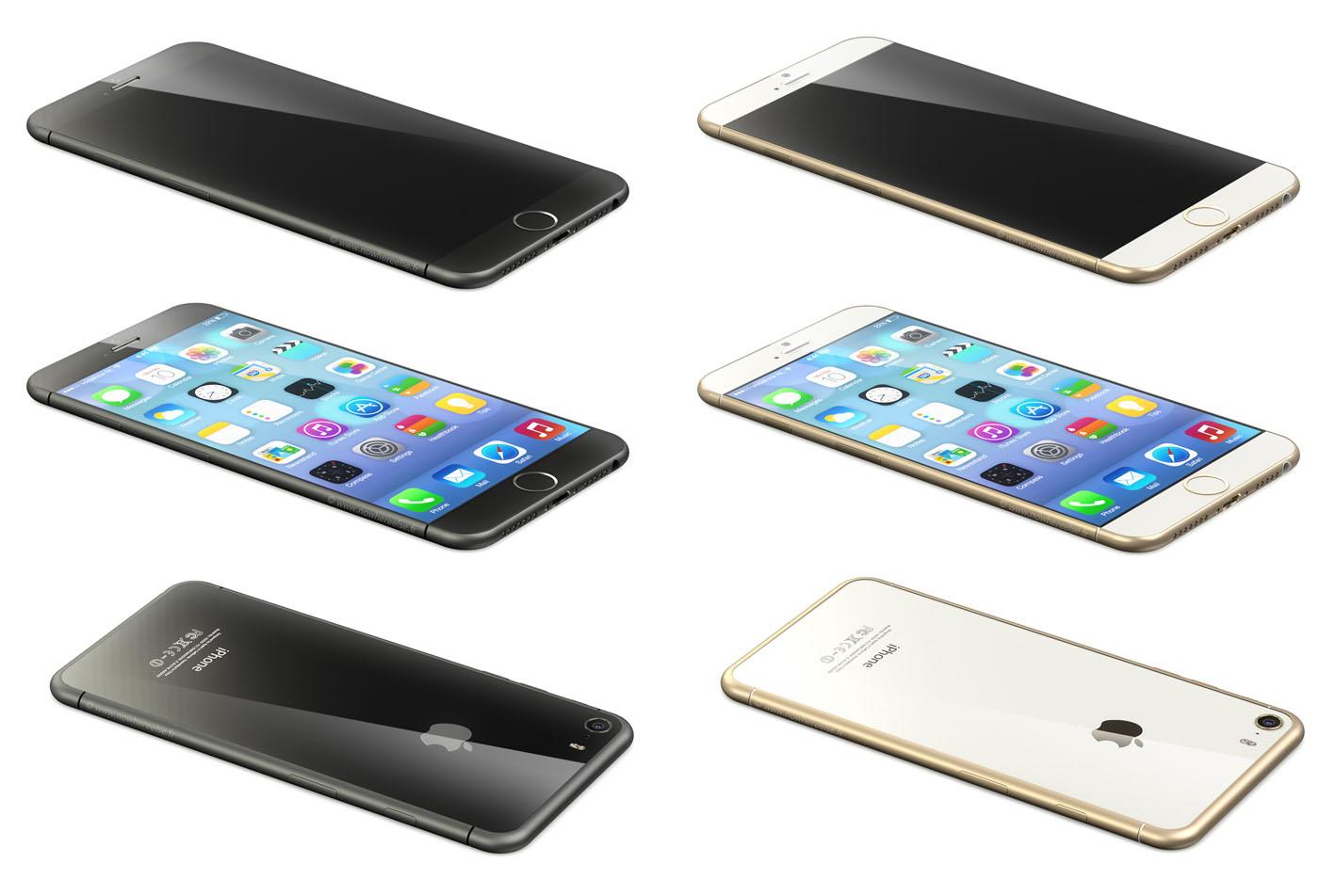 Uitgelekt: 'foto's tonen grotere iPhone 6 in Foxconn-fabriek'