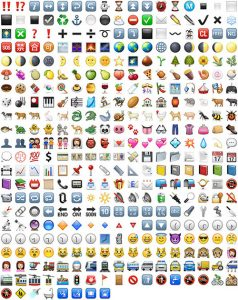 ios emoticons