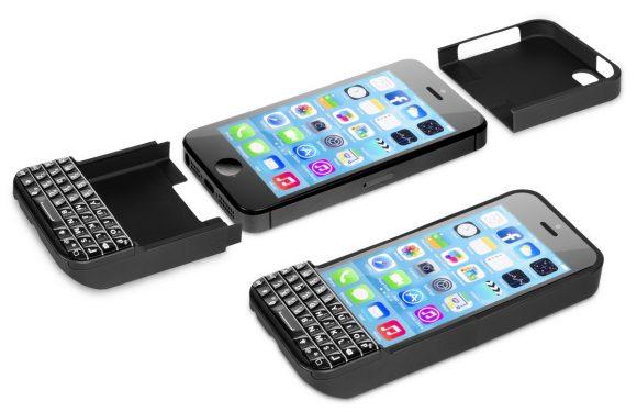 Verkoopstop op iPhone Typo toetsenbord door Blackberry