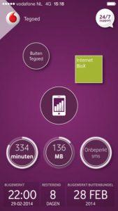 My Vodafone-app