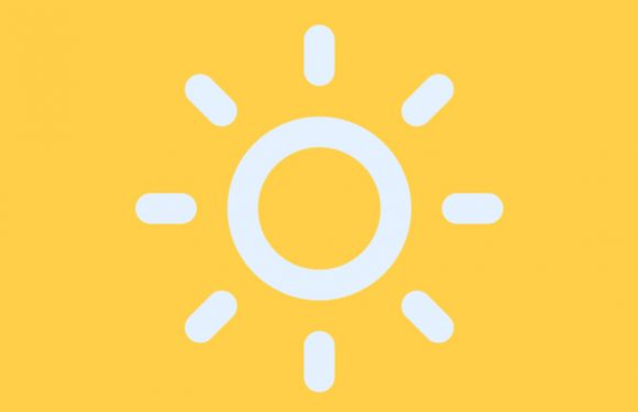 Supersimpele weer-app Druppel voorzien van fijne update
