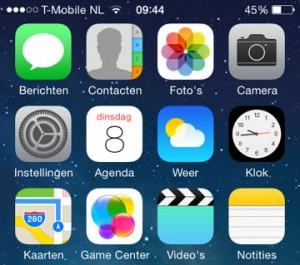 iOS 7 iDevices