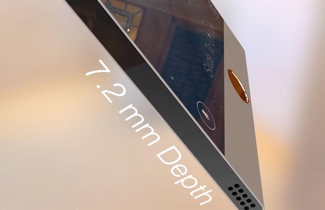Video: ultradun iPhone 6 Pro concept met hartslagmeter en stylus