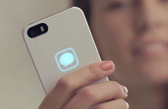 De Lunecase toont notificaties op je iPhone-hoesje