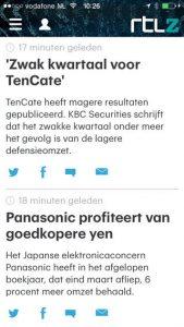 RTL Nieuws update