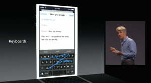 ios 8 quicktype