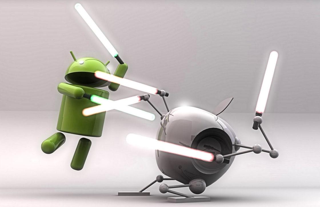 Apple en Google staken het vuren