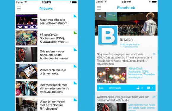 Bright presenteert een 'nieuwe remake' van de Bright app