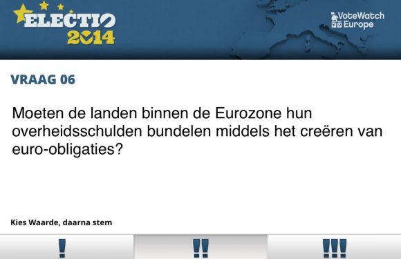 Europese verkiezingen 2014: doe de stemwijzer met je iPhone of iPad!