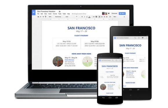 Google brengt gratis office-apps voor iOS uit, download ze hier!