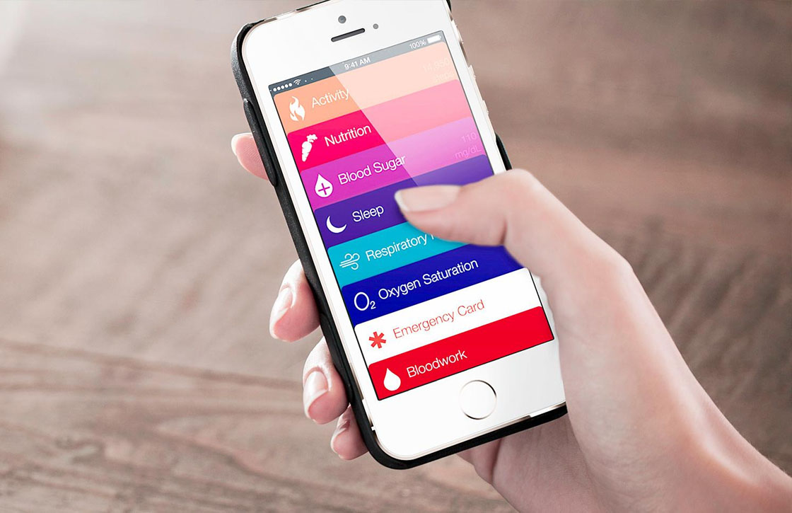 Bekijk gezondheidsapp Healthbook alvast op je iPhone