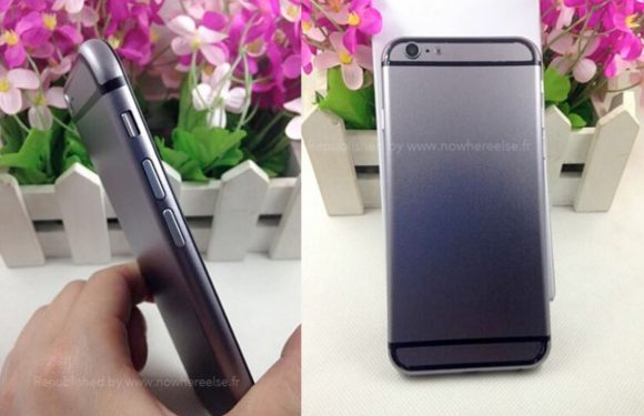 Check de nieuwe iPhone 6 mockup in de kleur Space Gray