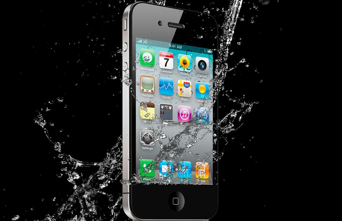 'De iPhone 6 wordt de eerste waterdichte telefoon van Apple'