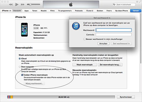 iphone beveiligen
