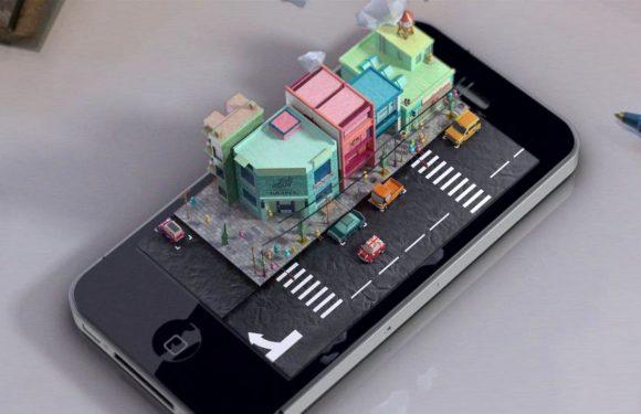 Zo zou een iPhone hologram eruit zien