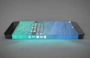 iphone zijkant scherm
