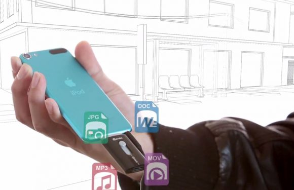 Deze usb stick wisselt gemakkelijk bestanden tussen iPhone en Mac