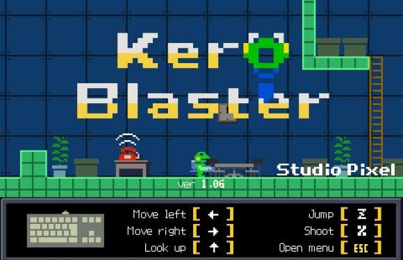 Schiet door 2d pixelwerelden met indiegame KeroBlaster