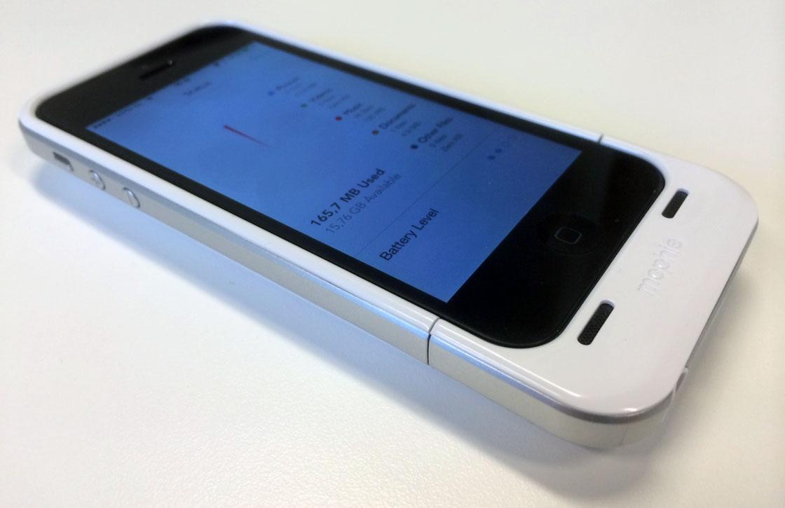 Mophie Space Pack: langere accuduur en meer opslag voor je iPhone