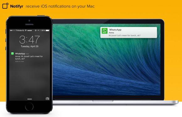Met Notifyr ontvang iPhone-updates op je Mac
