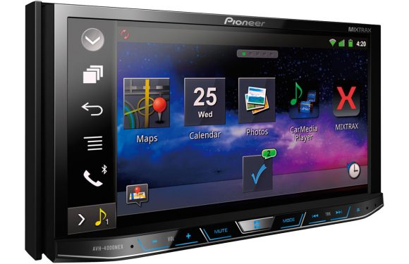 Pioneer toont geüpdatet infotainmentsysteem, biedt CarPlay in elke auto
