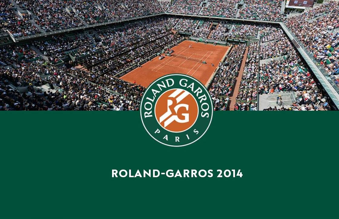 Roland Garros 2014: blijf op de hoogte met de overcomplete iOS-app