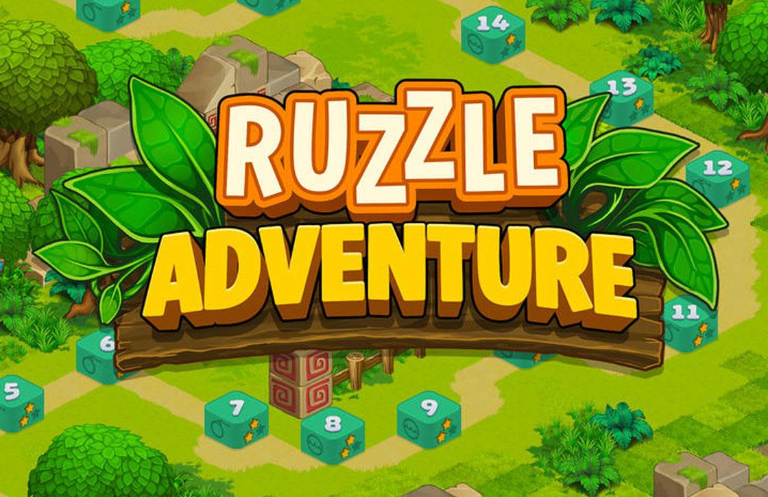 Vorm woorden tijdens je avontuur in Ruzzle Adventure