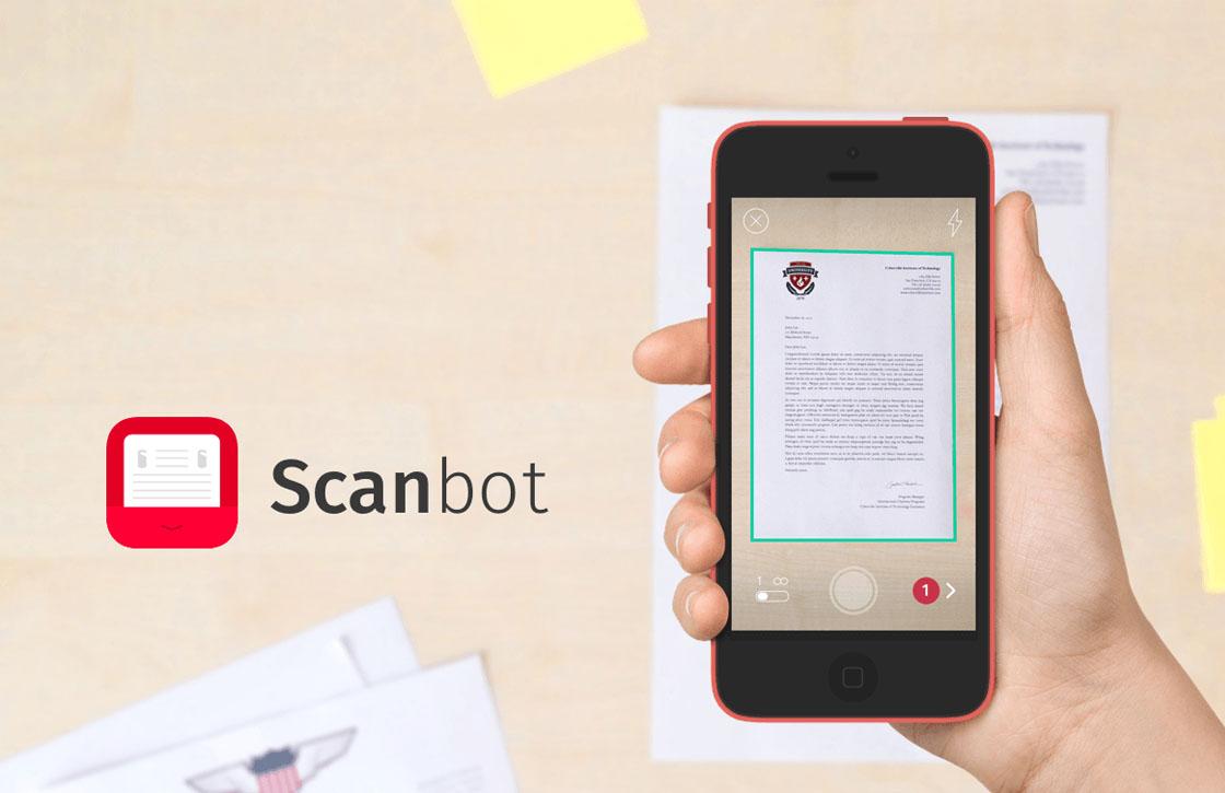 Update voor iPhone-app Scanbot laat je documenten beter ordenen