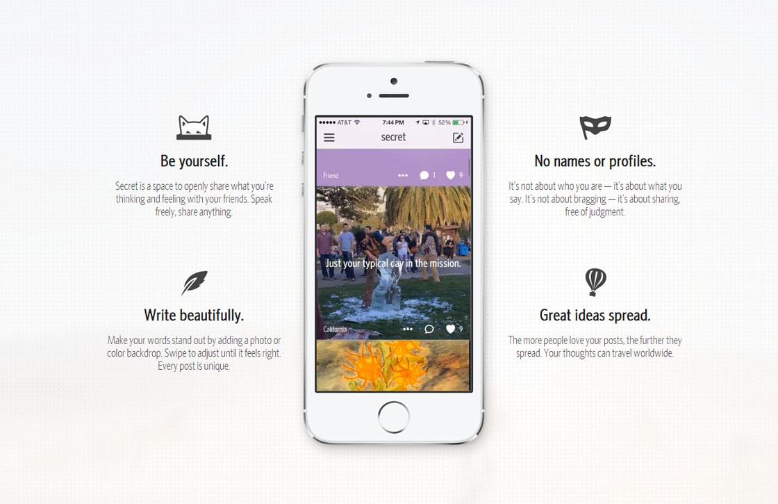 Geheimen-app Secret nu ook in Nederland: dit moet je weten