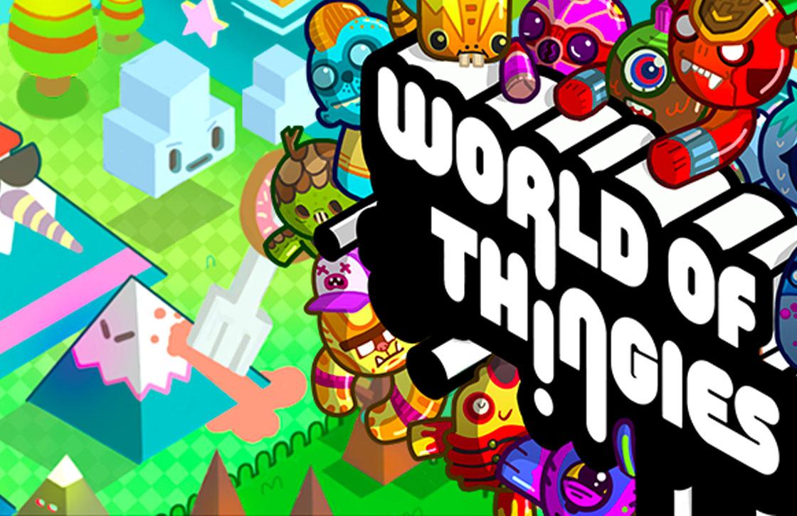 In World of Thingies vechten monsters tegen elkaar met puzzels