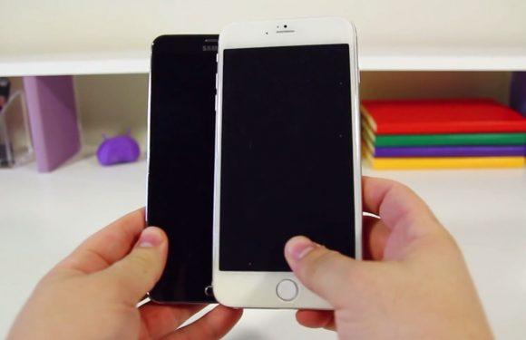 Video: iPhone 6 vergeleken met een Galaxy Note 3