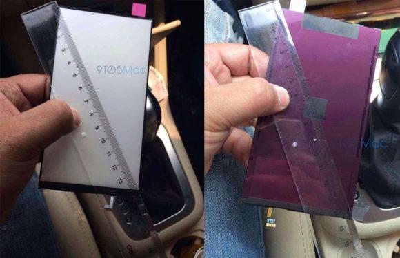 Deze foto's tonen het 5,5 inch iPhone 6 scherm