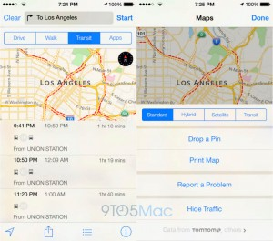apple maps kaarten app