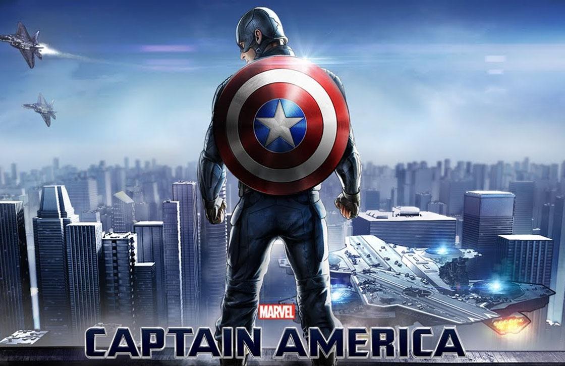 Gooi met je schild in Captain America: The Winter Soldier
