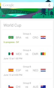 google now wk kaarten klein