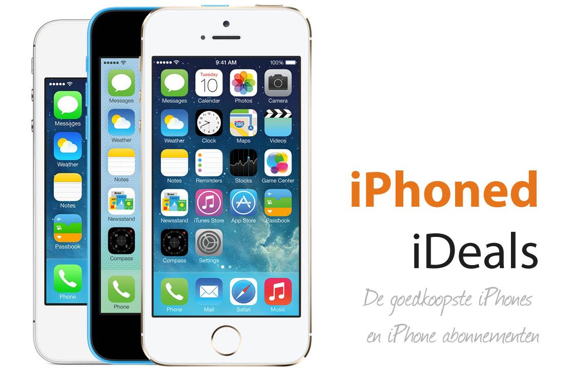 De goedkoopste iPhones en abonnementen van week 1