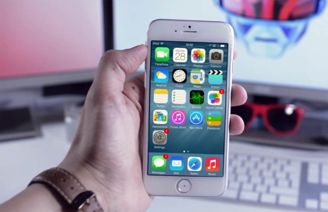 Video: zo ziet iOS 8 eruit op een iPhone 6