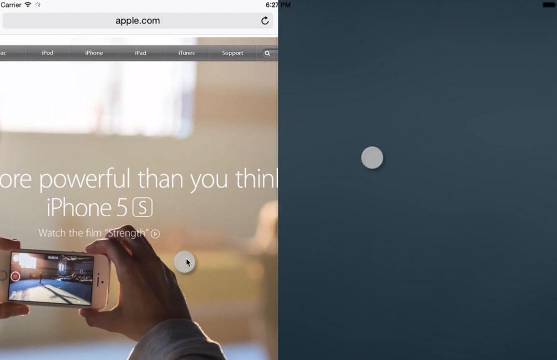 Video: zo werkt de splitscreen-optie op de iPad