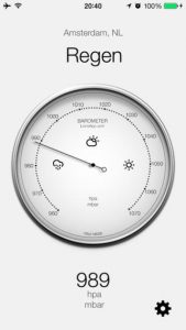 iphone 6 barometer