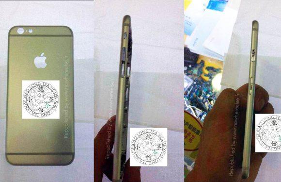 'Nieuwe uitgelekte foto's tonen fraaie behuizing iPhone 6′