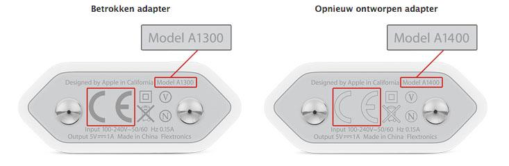 iphone adapter vervangen