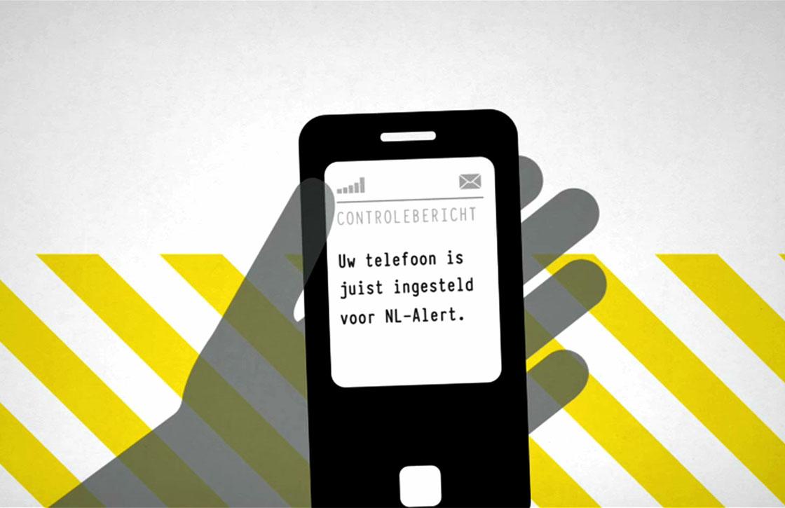 NL Alert controlebericht wordt morgen om 12.00 uur verstuurd
