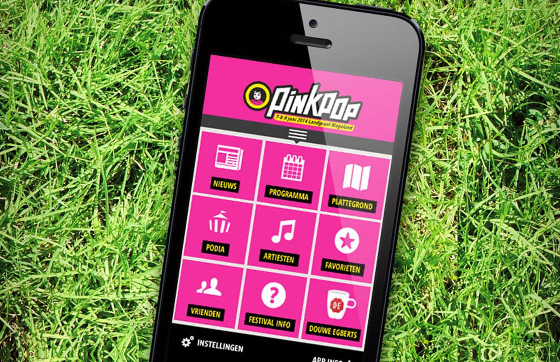 4 redenen voor Pinkpoppers om de Pinkpop 2014-app te installeren